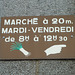 Saint-Malo 2014 – Marché à 20 m.