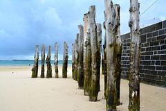 Saint-Malo 2014 – Wooden poles