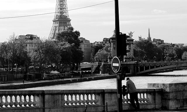 Some days in Paris, contemplating man