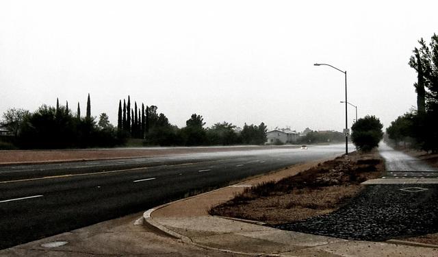 It Rains Up The Street