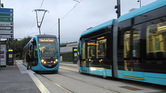 BESANCON: 2014.08.31 Inauguration du Tram: Station Gare Viotte. 02