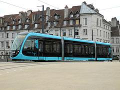 BESANCON: 2014.08.31 Inauguration du Tram: Pont Battant