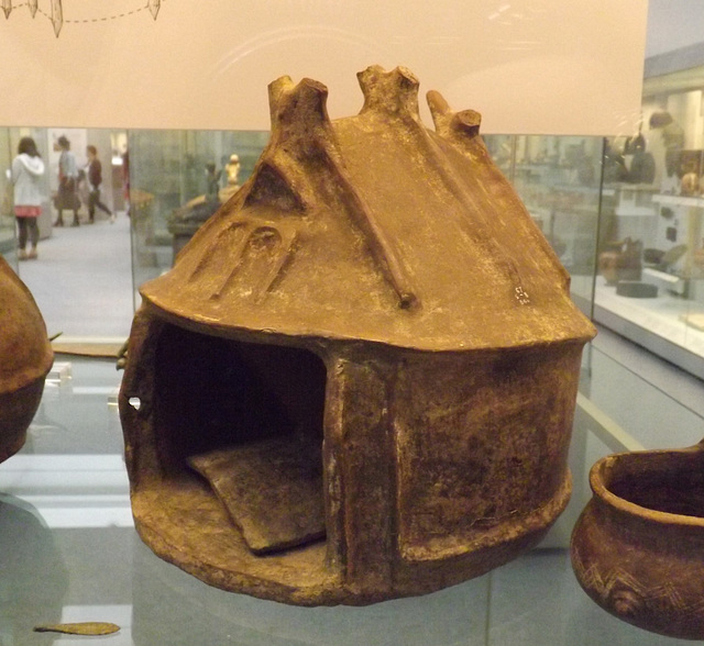 Hut Urn in the British Museum, May 2014