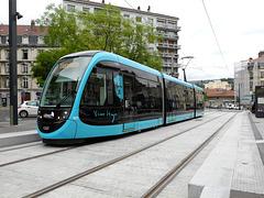 BESANCON: 2014.08.31 Inauguration du Tram: Station Flore. 02