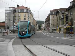 BESANCON: 2014.08.31 Inauguration du Tram: Station Flore. 04