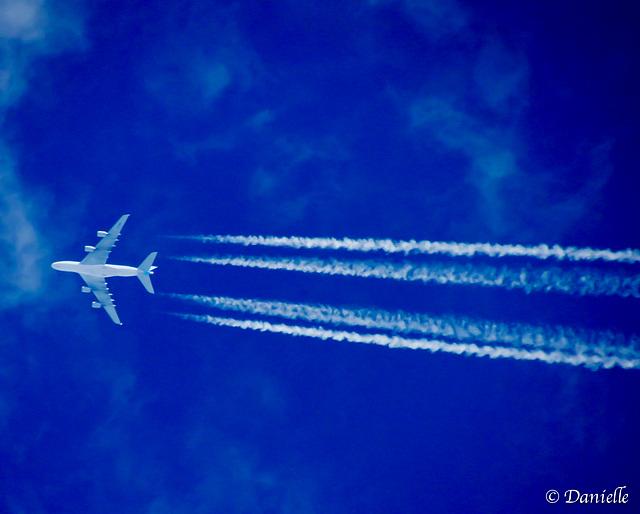 Un spectacle dans le ciel…..