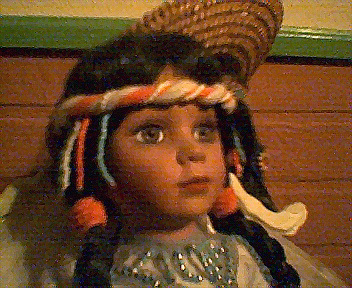 Indian Maiden Doll