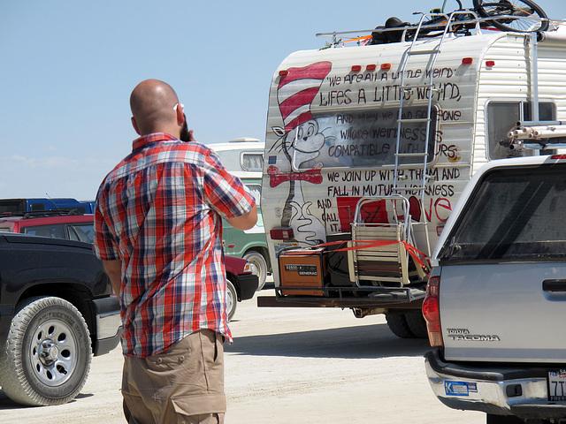 Entrance Road for Burning Man 2014 (0346)