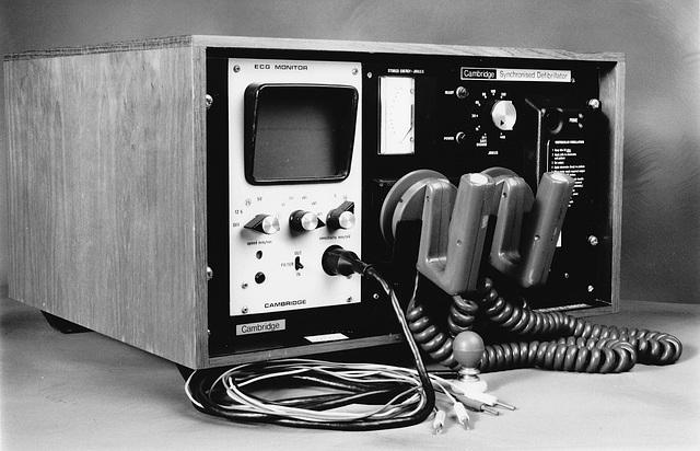 Synchronising Defibrillator, circa 1975