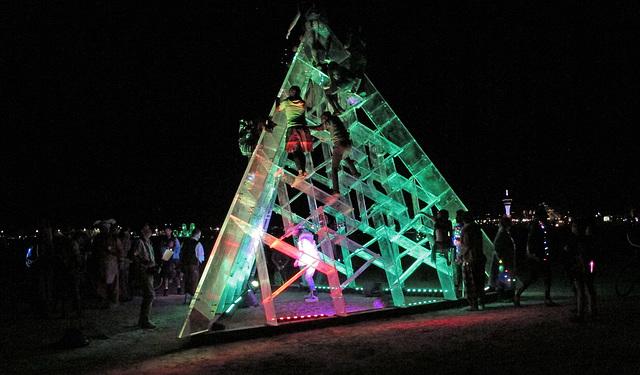 Lucite Pyramid (0422)