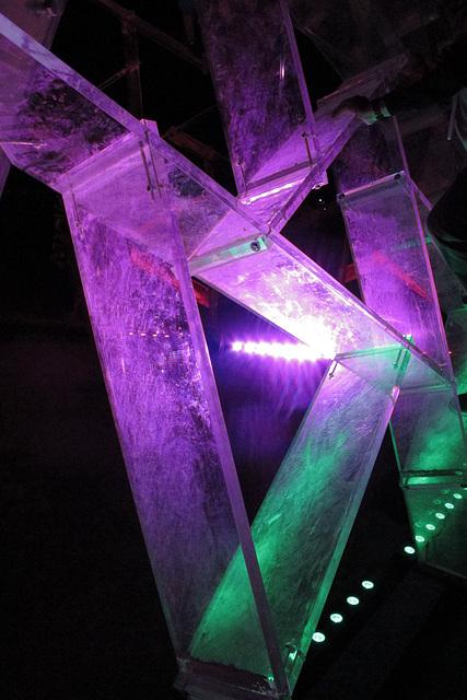 Lucite Pyramid (0430)