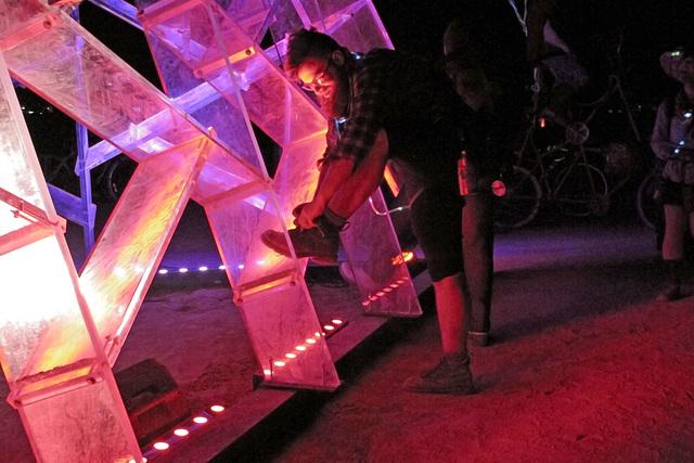 Lucite Pyramid (0431)