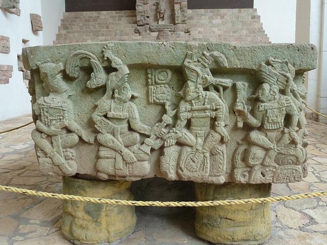 Mayan Altar Q at Copan