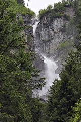 Wasserfall im Umbaltal