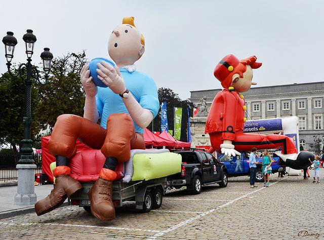 Le char Tintin