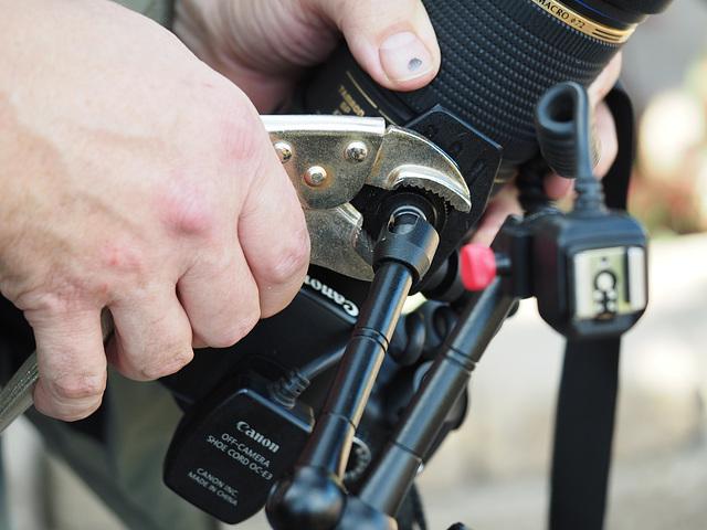 Vise Grips, a Camera Bag Essential