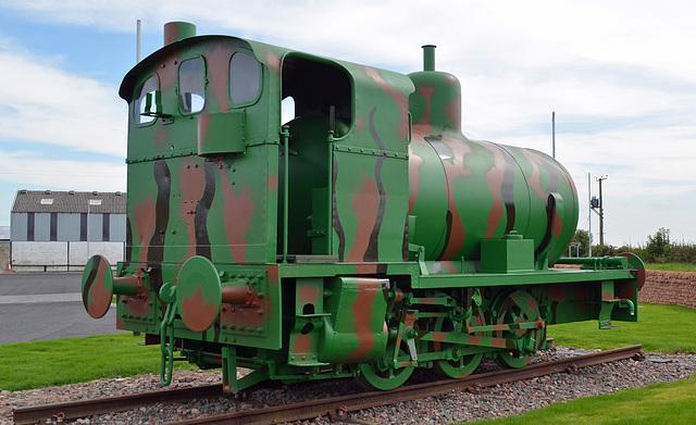 Sir James Fireless Steam Loco rear