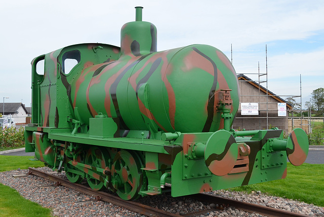 Sir James Fireless Steam Loco front