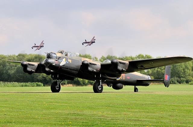 3 Lancasters