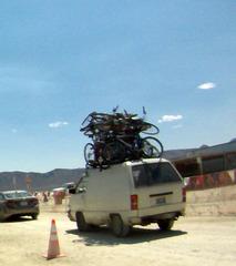 Bikes On Gate Road (0870)