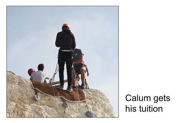 Calum gets his tuition