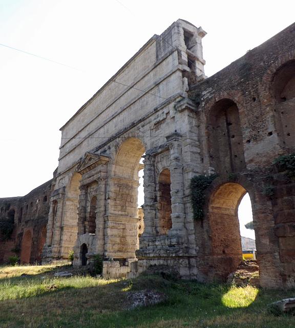 The Porta Maggiore in Rome, June 2012