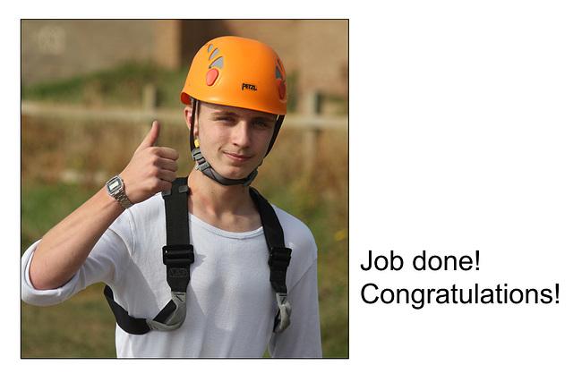 07 Kallum - Job done - Congratulations