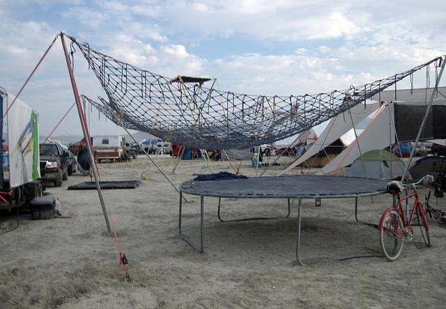 Trampoline Up To Net - Safety Third (6342)
