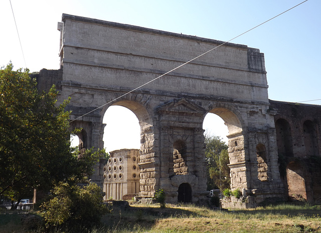 The Porta Maggiore in Rome, June 2012