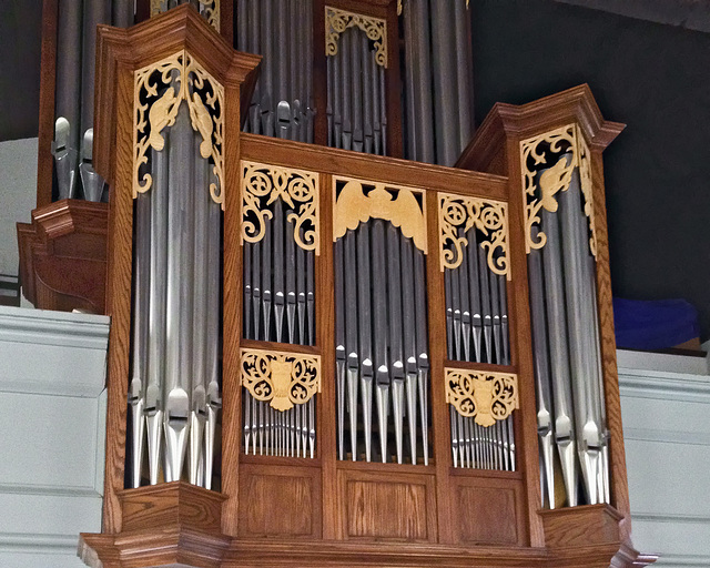 Beavers on the Organ – Old Dutch Church of Sleepy Hollow, Tarrytown, New York