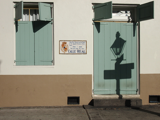 Schattenwurf in New Orleans