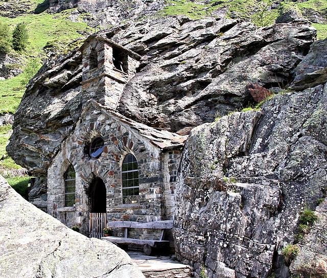 Felsenkirche im Gschlößtal