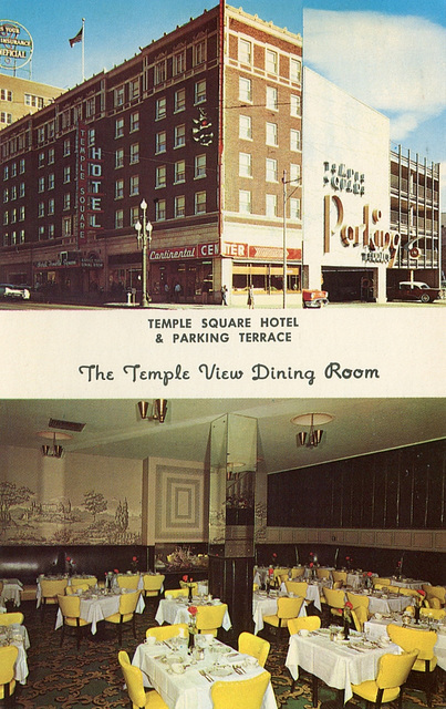 Temple Square Hotel/Temple View Dining Room