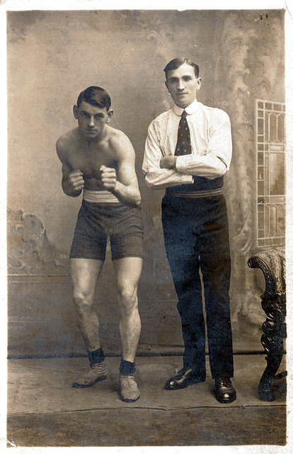 Young Boxer  c1920