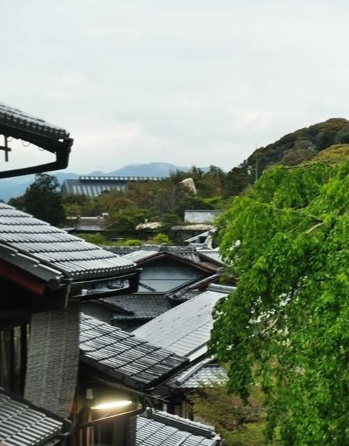 higashiyama roofs