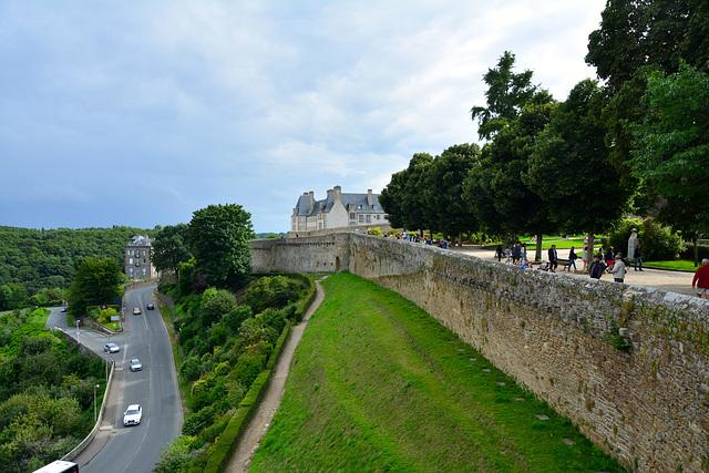 Dinan 2014 – Part of the city wall