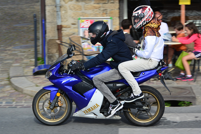 Dinan 2014 – Two on a motorbike