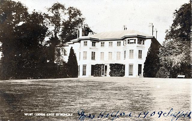 West Lodge, East Bergholt, Suffolk
