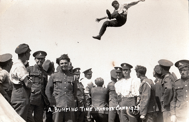 Giving The Bumps, Warden Camp , (Isle of Wight?)1923