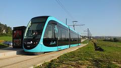 BESANCON: LeTram: Station Terminus Chalezeule.01