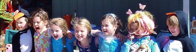 Audrey's 6th birthday