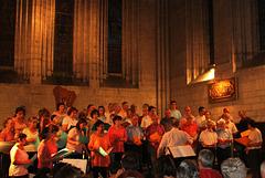 Concert Choeur77 à Brantôme - 2013