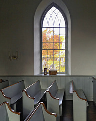 Pews – Old Dutch Church of Sleepy Hollow, Tarrytown, New York