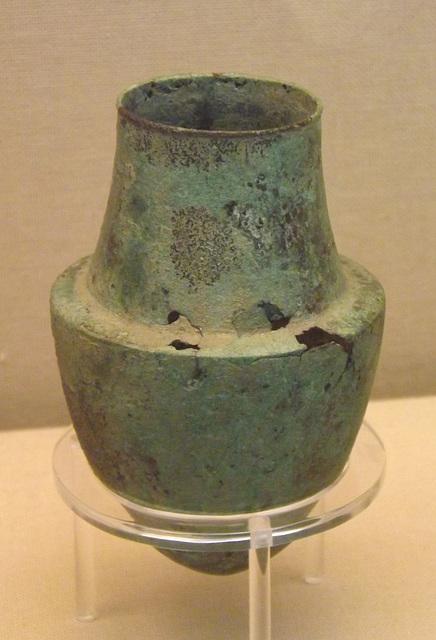 Bronze Bleeding Cup in the British Museum, April 2013