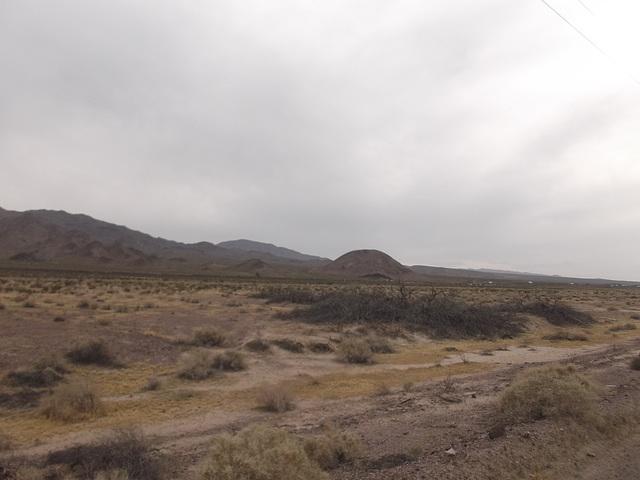 Route 66 landscape / Paysage de la route 66.