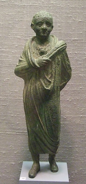 Statuette of a Boy in the Princeton University Art Museum, July 2011