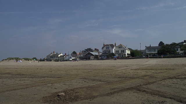 More of the lovely houses on the beach front