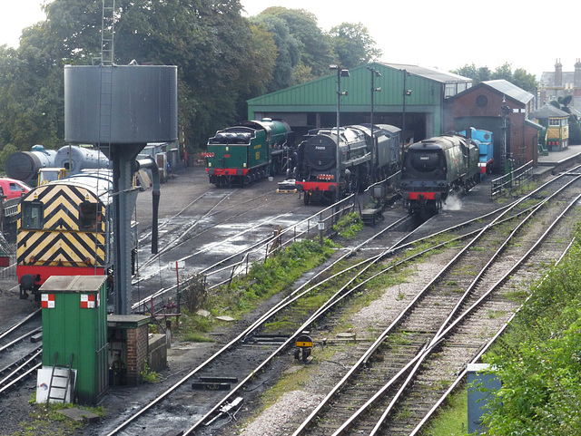 Mid-Hants Railway Revisited (7) - 10 September 2014