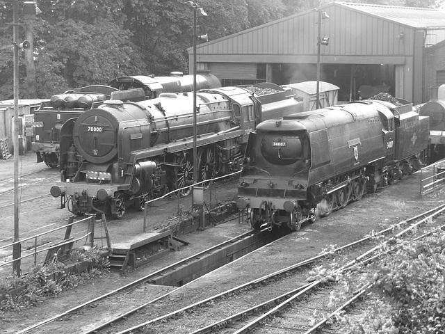 Mid-Hants Railway Revisited (10M) - 10 September 2014