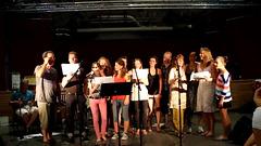 Choeur77 - Soirée chansons à Brantôme - 2013